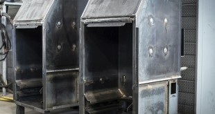 Backstage in produzione: termocamini allo stato primordiale