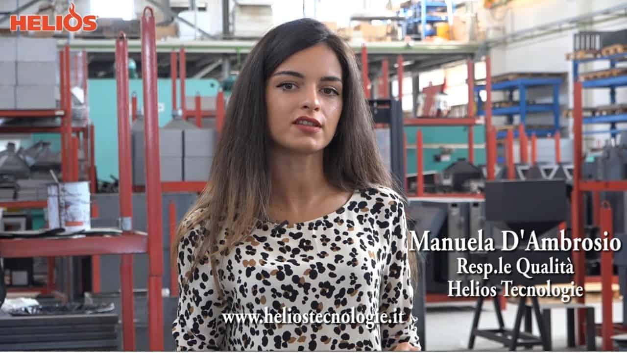 Video Intervista alla Responsabile della Qualità, Manuela D'Ambrosio