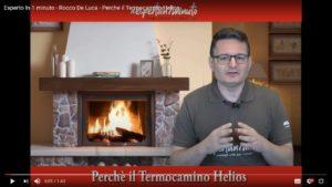 Esperto in 1 minuto: Perché scegliere un Termocamino Helios