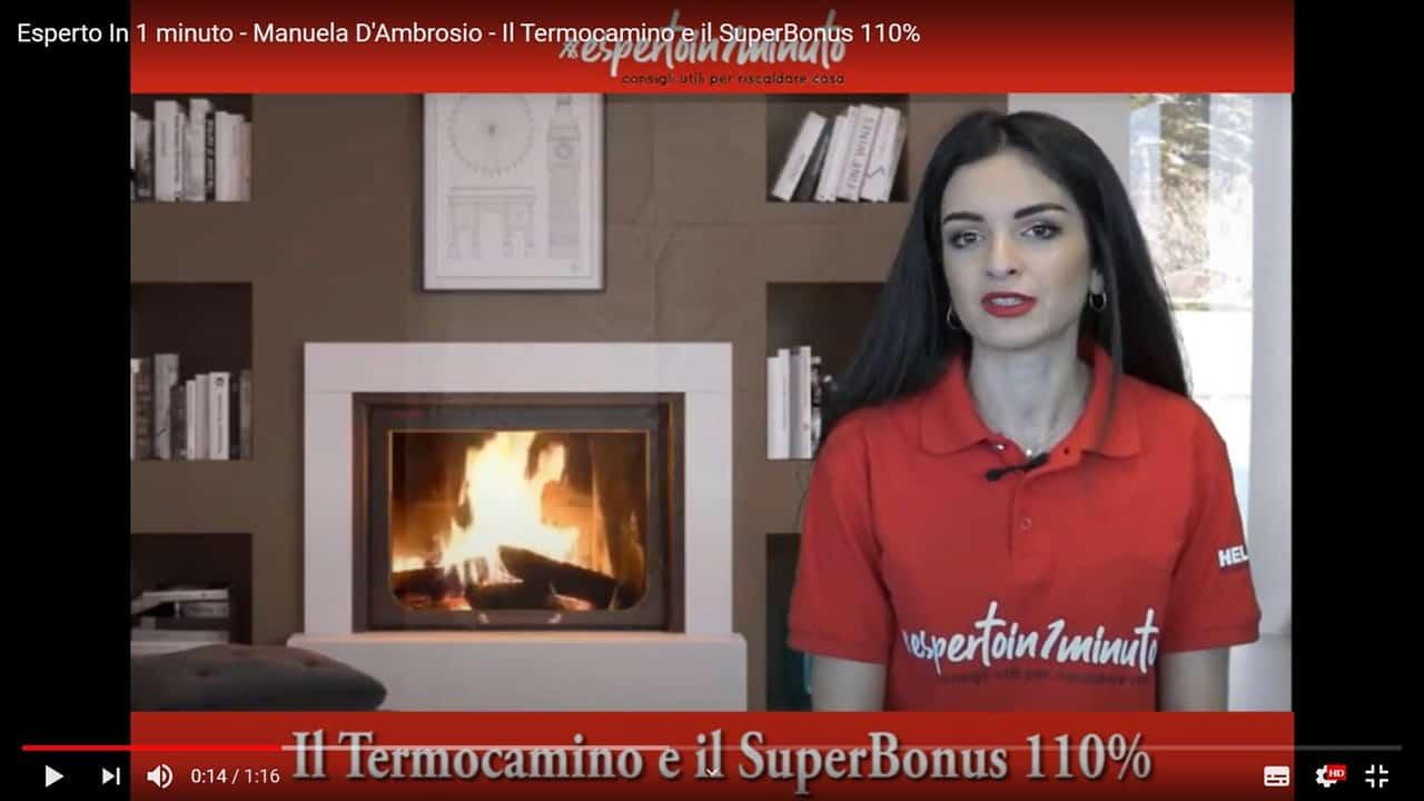 Esperto in 1 minuto: Il Termocamino e il SuperBonus 110%