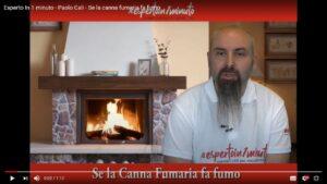 Read more about the article Esperto in un minuto: se la canna fumaria fa fumo