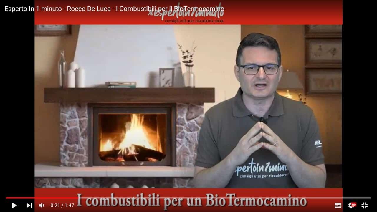 Esperto in un minuto: i combustibili per un Biotermocamino