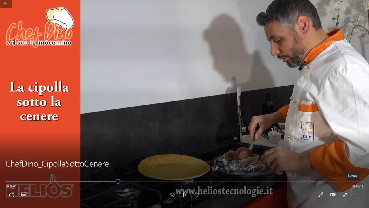 """""""Chef Dino e il suo Termocamino"""": La cipolla sotto cenere"""