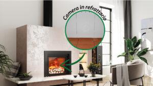 Read more about the article Camera di combustione in speciale refrattario bianco